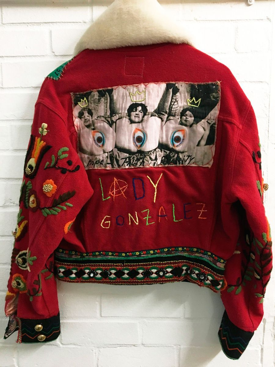 Red Embroidered Jacket Back Lowres